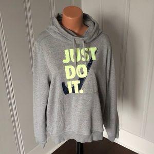 Nike Funnel Pullover Logo Sweatshirt Hoodie XL
